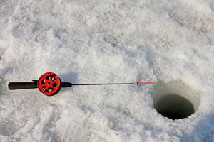 Iced Fishing